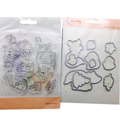 Logam Cutting Dies Stamp Stensil DIY Membuat Scrapbook Foto Album Dekorasi Hiasan Timbul-Internasional 1