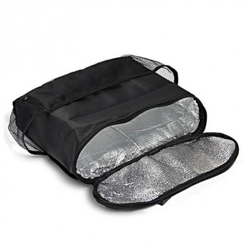Lanjarjaya Car Seat Organizer Holder Travel Storage cooling Hanging Bag - Black. Source · MS - Back Seat Auto Car - Black