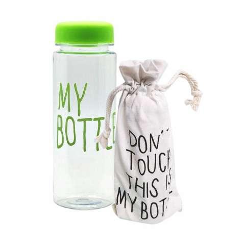 My Bottle DOFF Botol Minum Hijau plus Tas