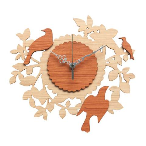 Nail Your Art Jam Dinding Unik Artistik BIRD NEST I - Artistick Unique Wall  Clock cc5dbe230d