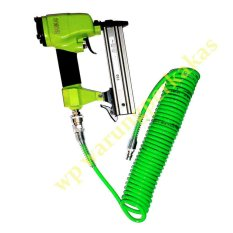 Nankai Air Nailer F30 Alat Paku Tembak Staples Angin Model I + Selang Compressor Recoil Hose 6 Meter