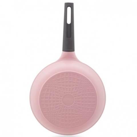Neoflam Eela Penggorengan Berlapis Keramik - 20cm - Die Cast Aluminum - Pink