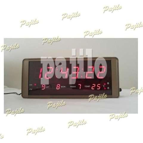 ORIGINAL Jam Digital LED Beker Jam Weker Stand Diri Meja Kantor Rumah Jam . 32d4f934dd