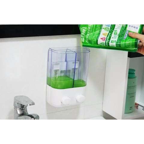 Set Tempat Sabun Cair Dan Shampo Dengan Wadah Pasta Gigi Odol Dan Sikat Gigi Elegan Dan