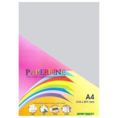 Paperfine Kertas HVS Warna A4 Platinum - Isi 25 Lembar