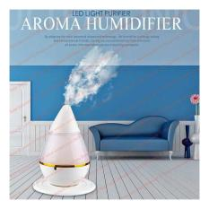 Pengharum Pewangi Pelembab Aromatherapy Ruangan AC Auto Off Diffuser Ultrasond Water Drop Humidifier Lampu Malam 7 Color Led USB Port DC 5V 500ma Power