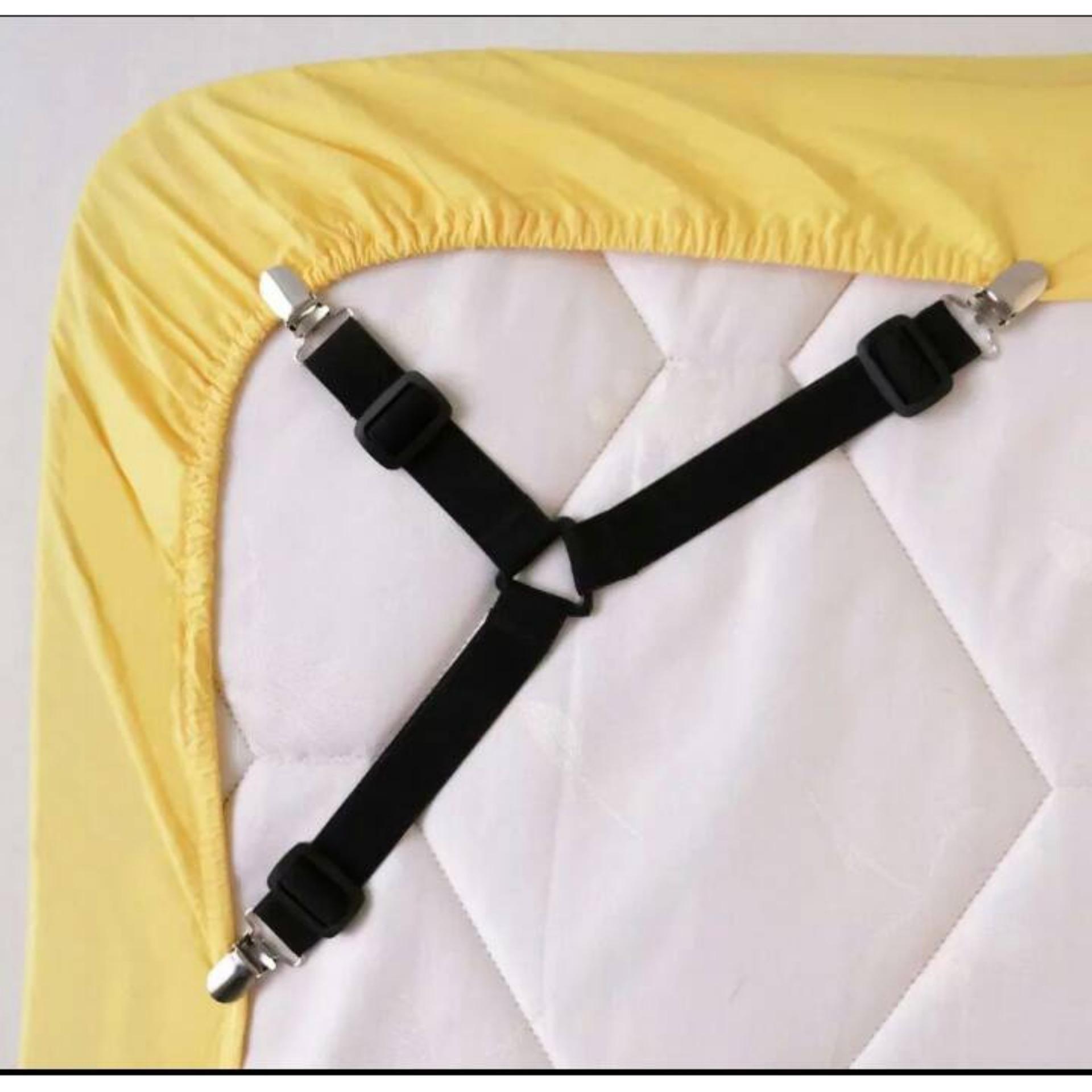 Penjepit Sprei Bed Sheet Grips - 1 Set