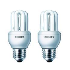 Philips Lampu Genie 8W WW E27 220-240V (2 Pcs)