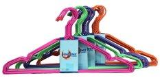 Phoenix Hanger/ Gantungan Baju Kawat Coating Plastik 4 Pack - 40 Pcs
