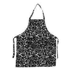Praktis Rumah Dapur Restoran Memasak Koki Apron Gaun dengan Saku (Cook Tools)-Intl