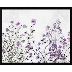 PTM Images Spring Petals, 22.75x28.75, Decorative Wall Art Framed Canvas, Black - intl
