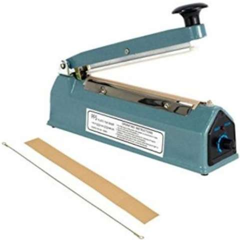 Q2 Impulse sealer PFS- 250 Alat Press Plastik 25 CM - Biru
