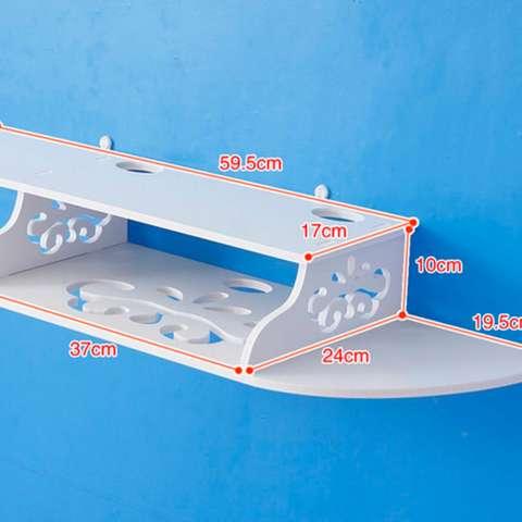Rak Pajangan Gantung Rak Gantung Unik Rak Hias Minimalis Rak Ruang Tamu Minimalis Rak Dinding Modern Rak Dinding MH51033 Single 1