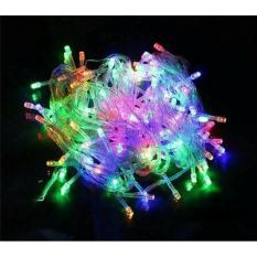Rated LED TumblrLampu LED Hias Lampu Natal Warna Warni ( RGB ) 100 LED