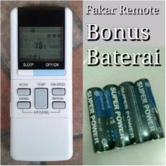 Remote Remot AC National Eolia free batrai