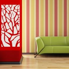 Removable 3D Akrilik Modern Cermin Stiker Seni Dekorasi Rumah Stiker Dinding Mural DIY-Intl