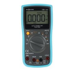 RICHMETES 15B + 6000 Hitungan Multi Meter DC Tegangan AC Current Ohm Meter Resistance Diode Capaciance Kontinuitas Auto/ Rentang Manual Digital Meter-Internasional