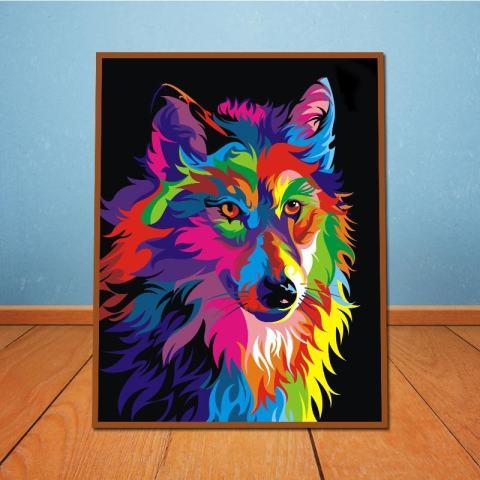 ROJEY-Baru Yang Kreatif dengan Berbagai Warna, Lukisan Cat Minyak Berbentuk Persegi untuk Dekorasi Dinding Lukisan-Internasional 2