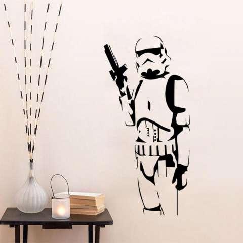 Rondaful Gambar Stiker Tembok Permainan Desain Modis Kualitas Tinggi Stiker Dinding Seni Dekorasi Lukisan Dekoratif untuk Ruang Keluarga Kamar Tidur-Intl 1