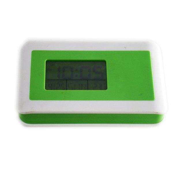 RUIBAO Alarm Clock Jam Weker-Projection-Hijau