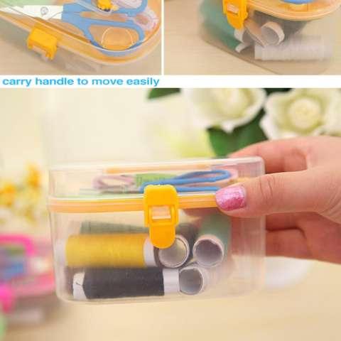 Sewing Kit Box AS SEEN ON TV - Kotak Jahit Mini Alat Set Jahit Mini Kotak