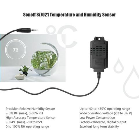 SI7021 Sensor Sonoff TH10/TH16 Suhu Karton Pak Monitoring APP 2