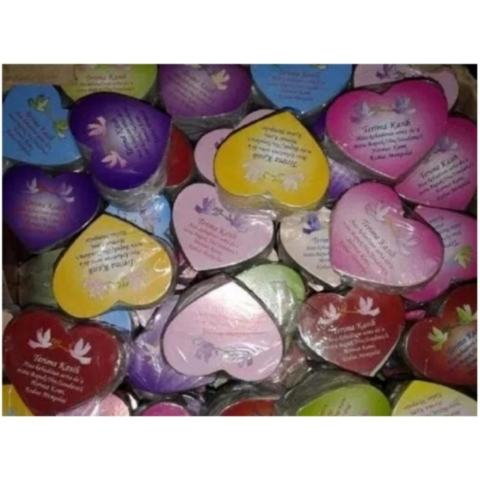Souvenir Pernikahan Sisir warna Campur Kemas plastik isi 100 pcs 2