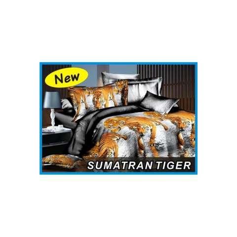 Kelebihan Couple Sprei + Selimut Super Lembut Dan Tebal Merk Bonita - WHITE TIGER Uk. Source · sprei single 3d macan sumatra 120x200