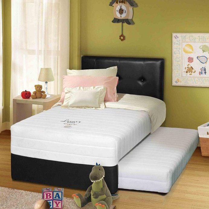 Spring Bed 2in1 Florence 120x200 Komplit Set Luxury Kids