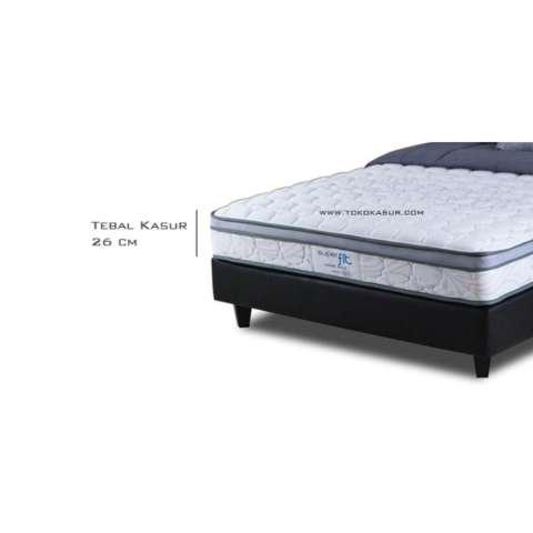 Spring Bed Comforta Super Fit Gold Uk180x200 Komplit Set Daftar