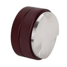 Stainless Steel Macaroon Bentuk Bubuk Kopi Blower Tamper Sands Kopi Pengisi dengan Tiga-fan Bawah 58mm Diameter Kopi -Intl