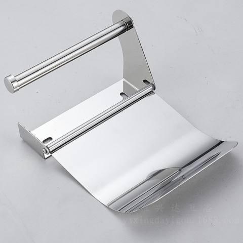 Anti Karat Kotak Kertas Pemegang Kertas Aksesori Kamar Mandi Toilet Kertas Gulungan Penahan Kamar Mandi Dinding Dudukan Rak Toilet-Internasional 3
