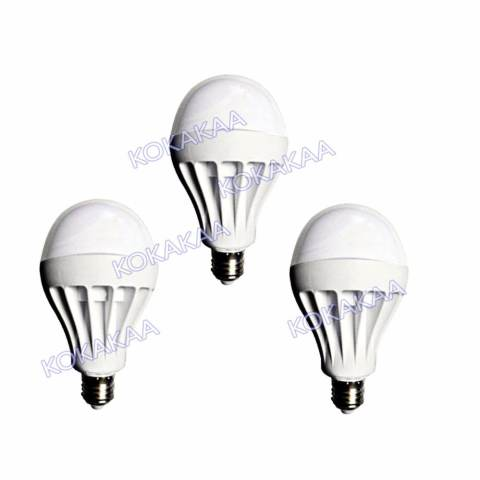 Sunfree Bohlam LED Bulb Cool White 7 Watt Bundle 3 Pcs