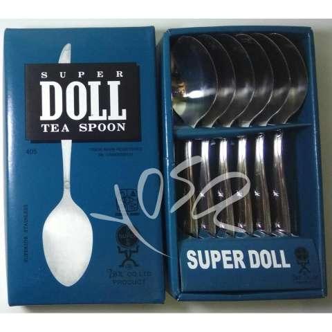 Crown Sendok Makan Stainless Steel - 12 Pcs. Source · SUPER DOLL Sendok Teh Original