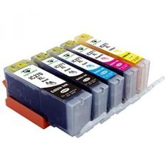Supricolor 5 Pack Penggantian Edible Tinta PGI-270XL PGI 270 CLI-271XL CLI 271 untuk Canon MGGGGGG5721 Kue Goreng Cetak-Internasional