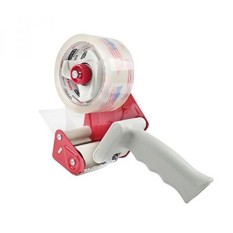Tape Standard Handheld Dispenser with a 55 Yard Packing Roll Included for Box Sealing and Packaging