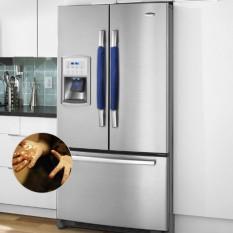 Teekeer Kulkas Debu Pintu Pegangan Sarung, Dapur Peralatan Listrik Sarung Tangan Lemari Es Microwave Mesin Pencuci Piring Pintu Pelindung-Internasional