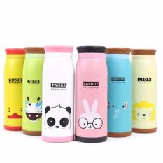 Termos 500ml Botol Minum Stainless Steel Karakter Animal Random