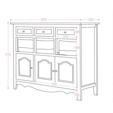 Set Meja Kursi Dapur Ireland Wagon Top Oak ... Source ·. Source · The Olive House - Lemari Kabinet Serbaguna Jasmine 9 Drawers - Putih - Khusus Area Luar