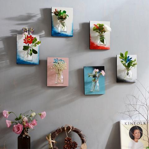 Dinding Dekorasi 3D Air Paiwha Tiga Dimensi Ideal Rumah Living Room Dinding Dekorasi Dinding Mural Hiasan Dinding, sect. F)-Internasional 2