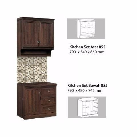 ... 3 Pintu Rak Bumbu Ksa 2653 Daftar Harga Source · Beli Topix Kitchen Set Cabinet Atas Bawah 2 Pintu Tpx855 2 Coklat Jadetabek Only Free Perakitan