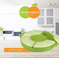 Toples Lebaran / Toples Jajan Bulat isi 5 Golden Sunkist