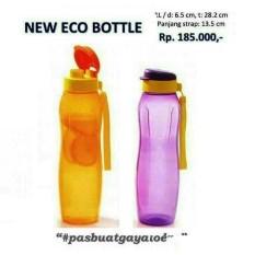 Tupperware Eco Bottle 1 Liter Flip Top Tempat Minum Botol 1Lt Lt L