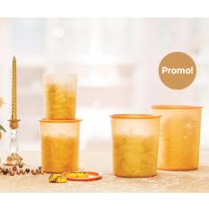 Tupperware Mosaic Canister - Toples 4pcs