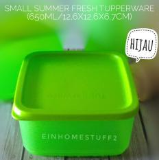 Tupperware Small Summer Fresh Tempat Bekal Makan, Kue, Snack