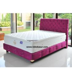 Uniland Platinum Double Pillowtop Violetta 100x200 Kasur Tanpa Divan/Sandaran