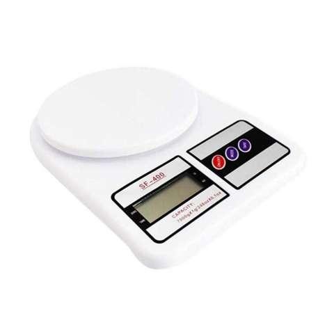 Universal Timbangan Dapur Digital - Putih [10 kg]