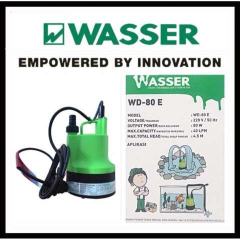 Wasser Pompa Celup / Submersible Pump WD-80 E