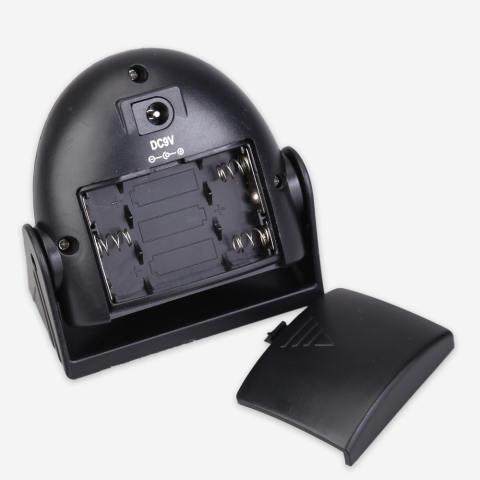Selamat Datang Menyela Sensor Gerakan 10 M Bel Peringatan Alarm Bel Pintu Hitam 2