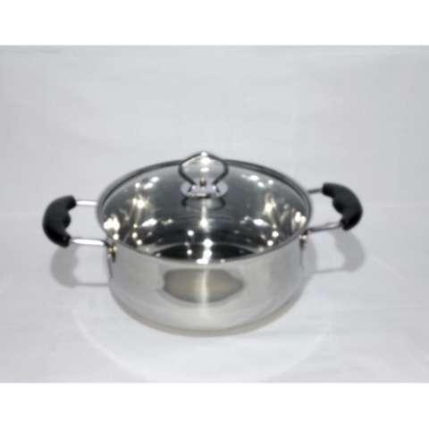 Harga Panci Set 5 Pcs American Style High Pots Gsf 1625 Tanpa Steamer. Source · WLWL888 Alat Masak Dapur Panci Soup Pot Satinless Steel Yang Tebal Double ...